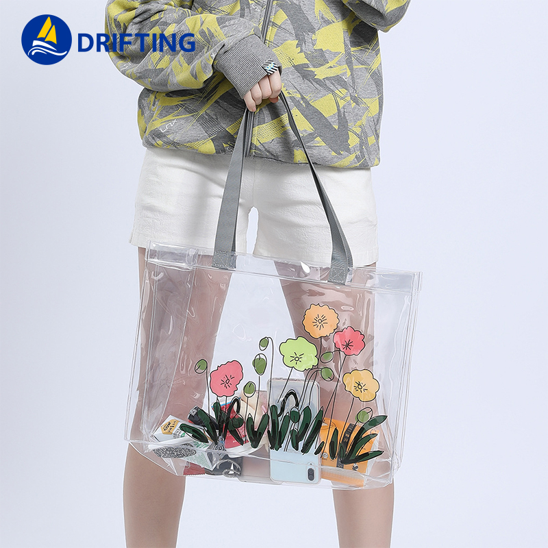 PVC Transparent Handbags Shoulder Bag Fashion handbag DFT-1805 (18).jpg