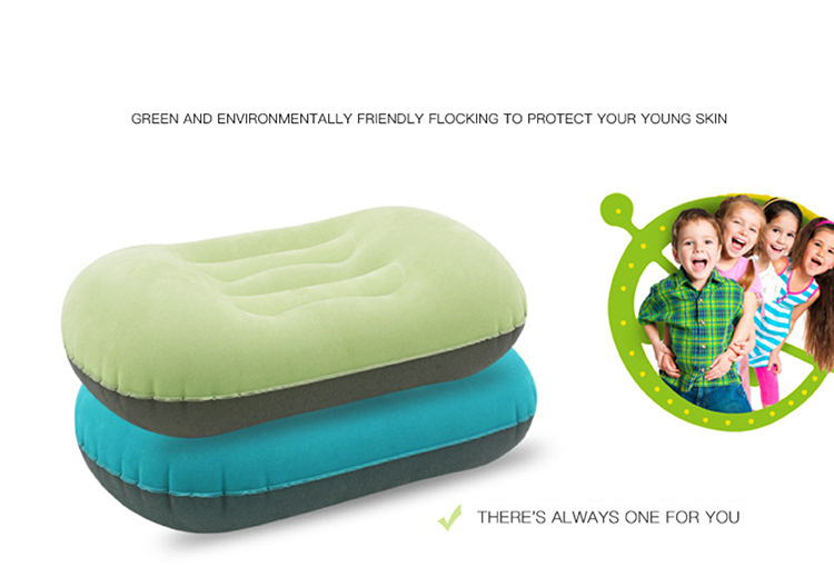 Children's Flocking Cloth Inflatable Pillow (Cushion) (1).JPG