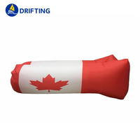 National flag printing Air Sofa Inflatable Lounger DFT-LC2