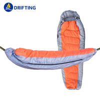 Separate sleeping bag hammock