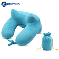 Inflatable neck pillow DFT-M1010