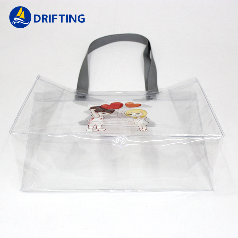 PVC Transparent Handbags Shoulder Bag Fashion handbag DFT-1805 (3).jpg