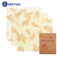 Reusable Bee Food Wrap Wax Paper