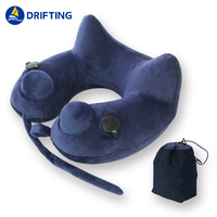 Inflatable neck pillow DFT-MT605